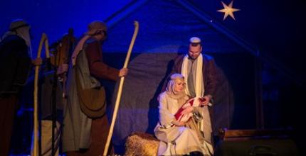 Christmas 2019 – Різдвяне служіння Церкви «Жива Надія», театральне дійство охоплює історію Різдва Спасителя