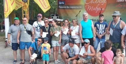 Християнський спортивний клуб «Вікторі» представив програму силового жонглювання та провів змагання на фестивалі «Сонце Таврії»