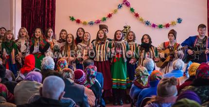 Різдвяна акція – молодіжна акція церкви «Жива Надія» та МБФ «Ти не один»