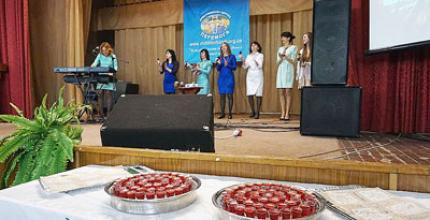 У церкві «Перемога» міста Кропивницький (Кіровоград) пройшло Великоднє служіння