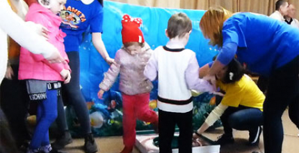 Великоднє євангелізаційне служіння для дітей відбулося в церкві «Перемога» міста Кропивницький