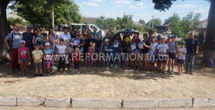 Всеукраїнський благодійний Фонд «Мир і добробут» провів сімейне свято для дітей із сімей СЖО, малозабезпечених та багатодітних сімей