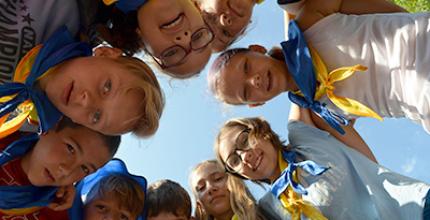Церква «Відродження» м. Кропивницький (Кіровоград) провела дитячий християнський табір «Будь здоровим»